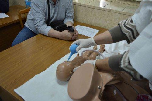 Учебное занятие «Оказание первой помощи при родах в условиях чрезвычайной ситуации»