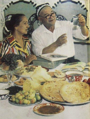 Карим Махмудов с супругой
