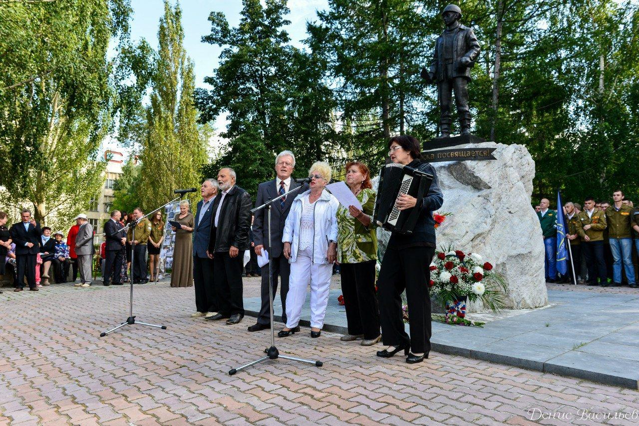 Сценарий торжественное открытие памятника