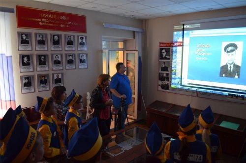 ЮИДовцы посетили Музей озерской полиции