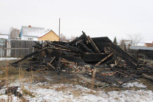 Пенсионерка травмирована на пожаре