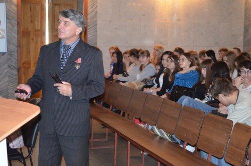 Книгу о чернобыльцах презентовал чернобылец