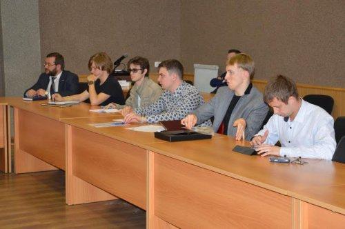 В Озёрске побывал председатель Общественной молодежной палаты Челябинской области