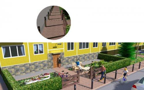 Как в пять простых шагов сделать типовой постсоветский двор уютным