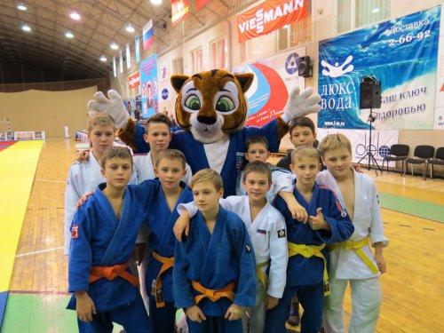 Юные озёрские дзюдоисты успешно выступили на престижном турнире