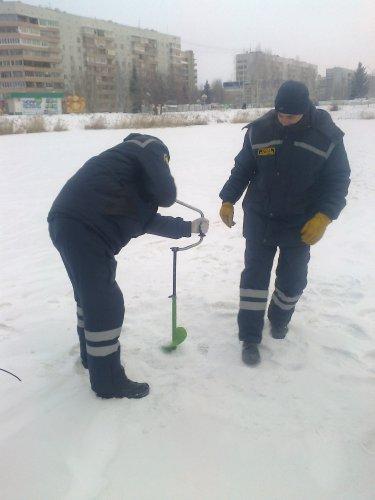 Лёд готов к катанию