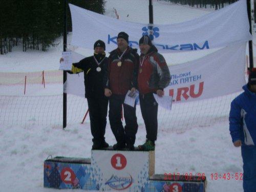 Озёрские горнолыжники — призёры в каждой дисциплине этапа Кубка России