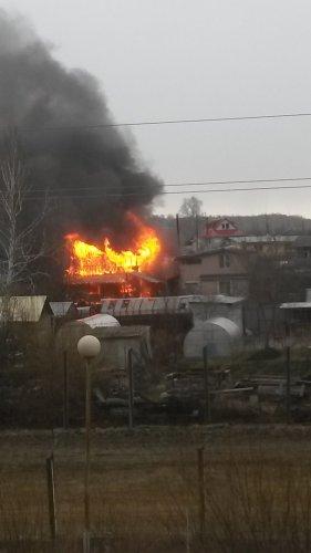 В Озёрске боролись с крупными пожарами