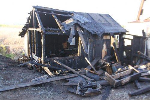 Пожар в «Вишенке»