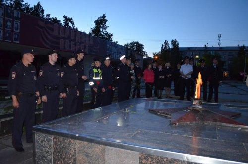 Озерские полицейские провели акцию «Завтра была война»