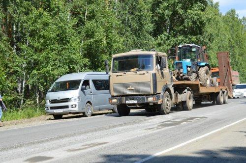 Карточный ремонт начали с дороги на Кыштым