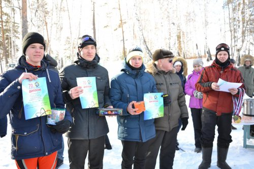 Состоялись соревнования по лыжным гонкам