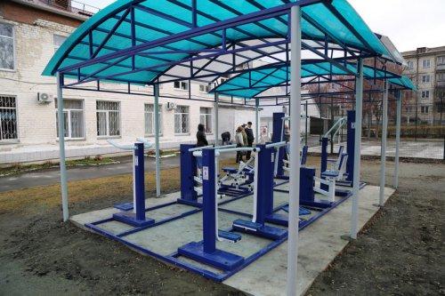 В Центре помощи детям-сиротам состоялось открытие спортивной площадки