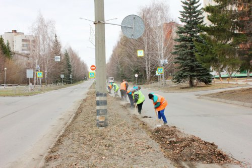 Уборку улично-дорожной сети планируется завершить к 30 апреля