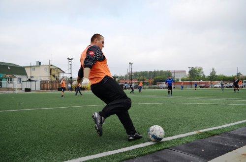 В Озерске правоохранители провели товарищеский матч по мини-футболу