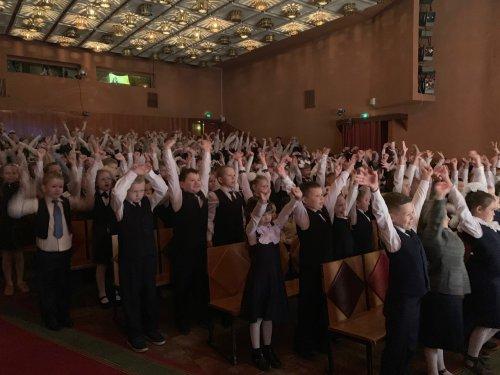 В День знаний в театре кукол «Золотой петушок» состоялся театральный урок
