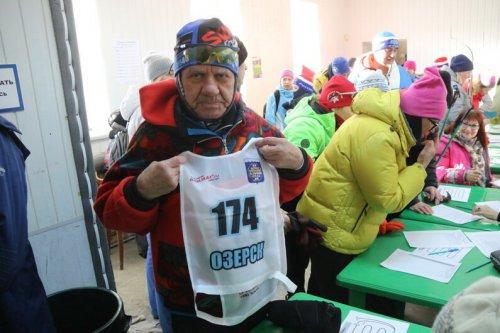 На «Лыжню России-2020» пришли озерчане разного возраста
