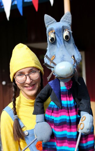 В онлайн-проекте театра кукол «Золотой Петушок» приняла участие актриса Регина Филимонцева