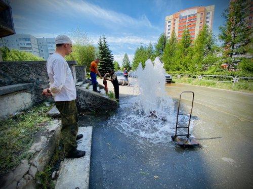 Водоснабжение из-за повреждения пожарного водопровода ограничено не будет