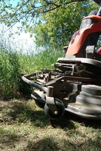 В Озерске начались окосы травы
