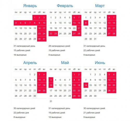 Как отдыхаем в 2021 году. График выходных и праздничных дней на весь год